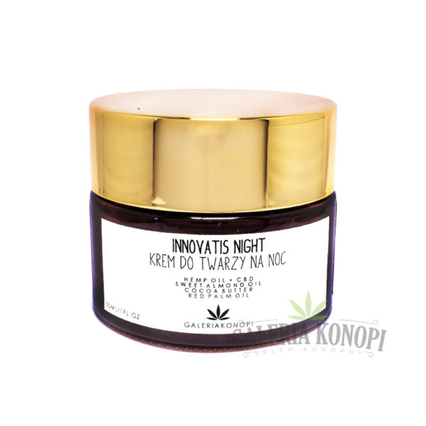 Innovatis Night CBD Face Cream 30ml - Krem do twarzy na noc