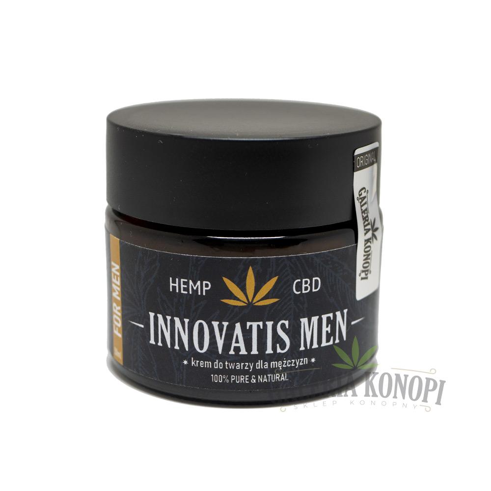 Innovatis Men CBD Face Cream 50ml - Krem do twarzy dla mężczyzn