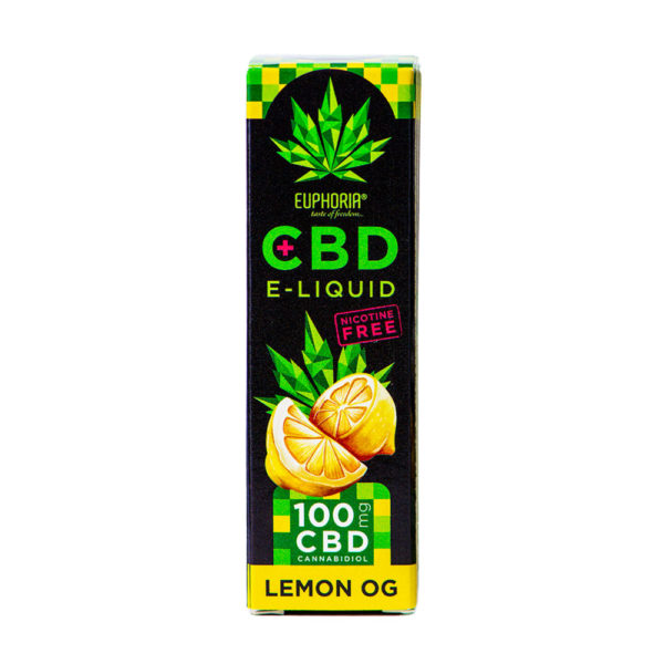 E-Liquid CBD Lemon OG 100mg 10ml